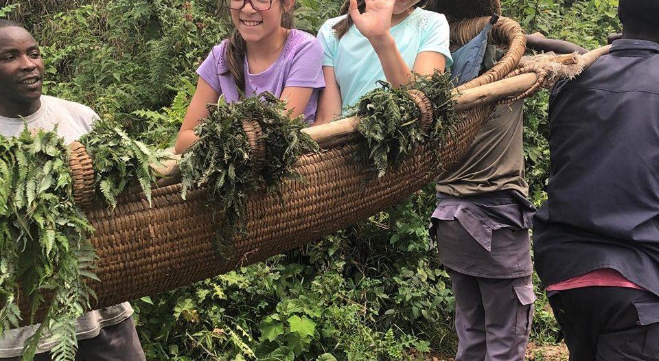 Gorilla trekking for kids in Bwindi